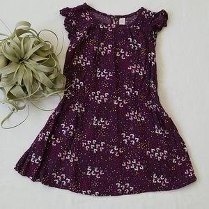 Girls Pretty Ruffle Sleeve Bunny Dress Tunic